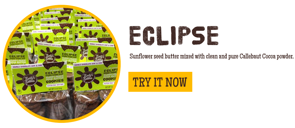 Eclipse Double Chocolate Chip & Sunflower Seed Butter Cookies
